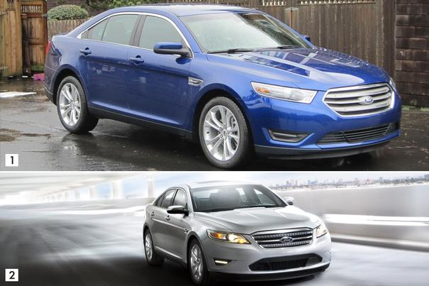 Our view: 2013 Ford Taurus