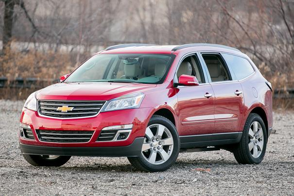 Our view: 2014 Chevrolet Traverse
