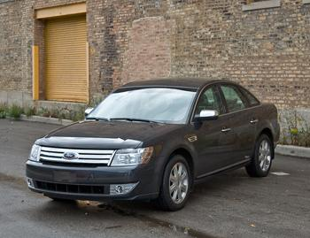 Our view: 2009 Ford Taurus