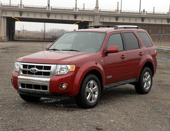 Our view: 2008 Ford Escape