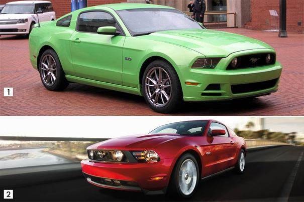 Our view: 2014 Ford Mustang