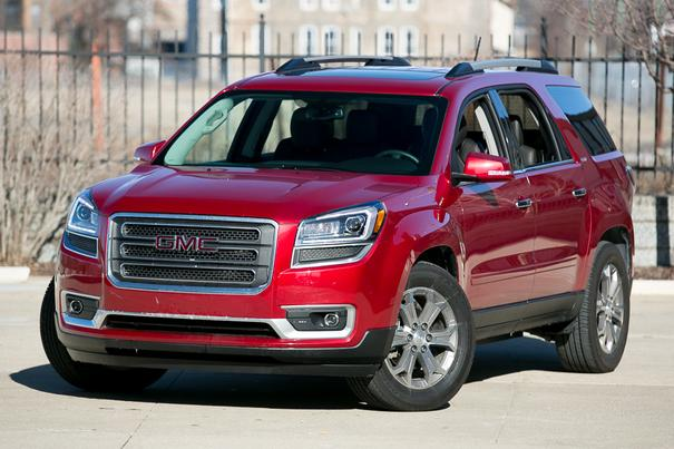 Our view: 2014 GMC Acadia
