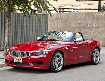 Our view: 2012 BMW Z4