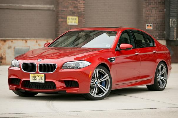 Our view: 2013 BMW M5