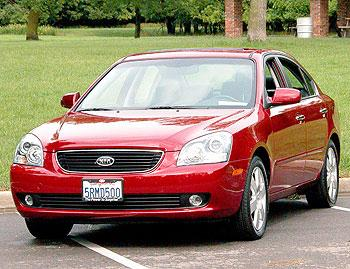 Our view: 2006 Kia Optima