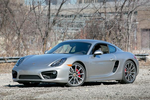 Our view: 2015 Porsche Cayman