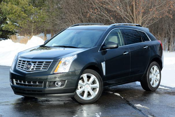 Our view: 2014 Cadillac SRX