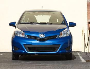 Our view: 2012 Toyota Yaris