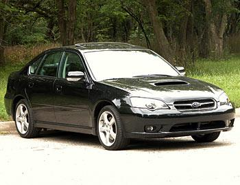 Our view: 2005 Subaru Legacy