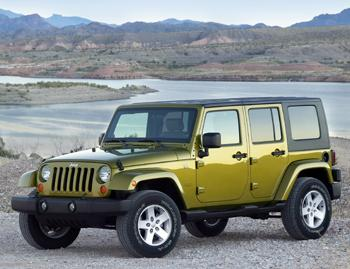 Our view: 2008 Jeep Wrangler