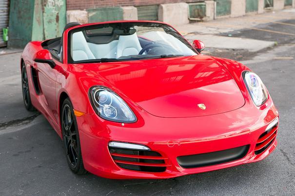 Our view: 2013 Porsche Boxster