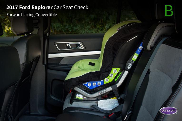 2017 Ford Explorer Car Seat Check