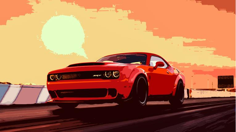 Dodge Challenger Demon Sets Social Media Ablaze