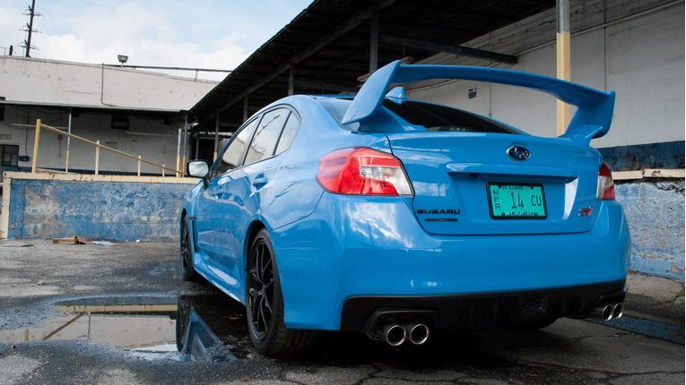 2016 Subaru WRX STI Series.HyperBlue Review: Photo Gallery