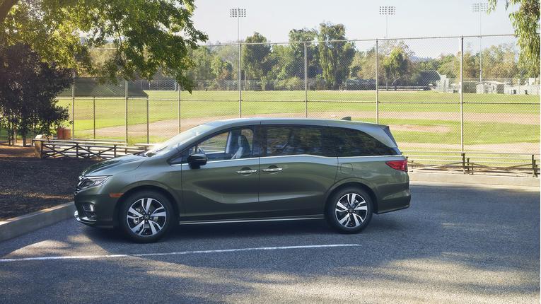2018 Honda Odyssey Video