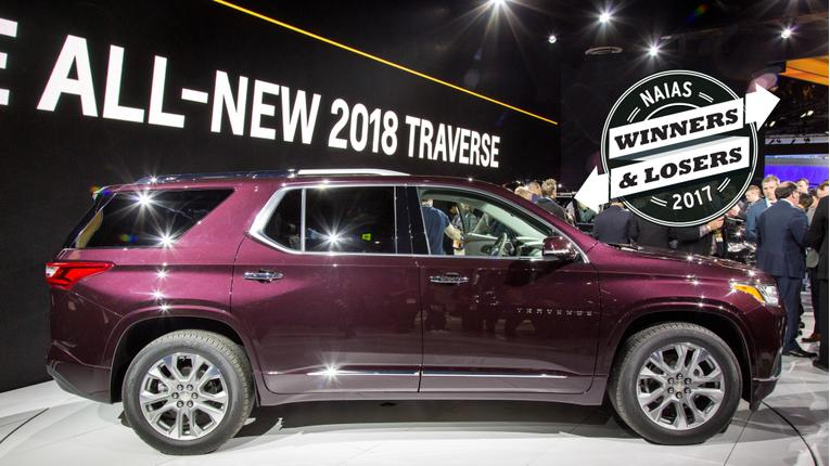 2017 Detroit Auto Show Winners and Losers