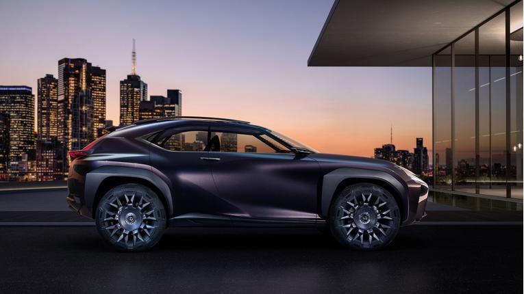 Lexus UX Concept Preview