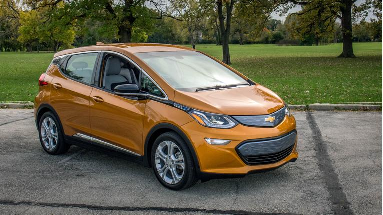 2017 Chevrolet Bolt EV Review: Quick Spin