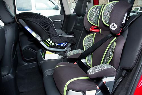 2015 Honda Fit Car Seat Check