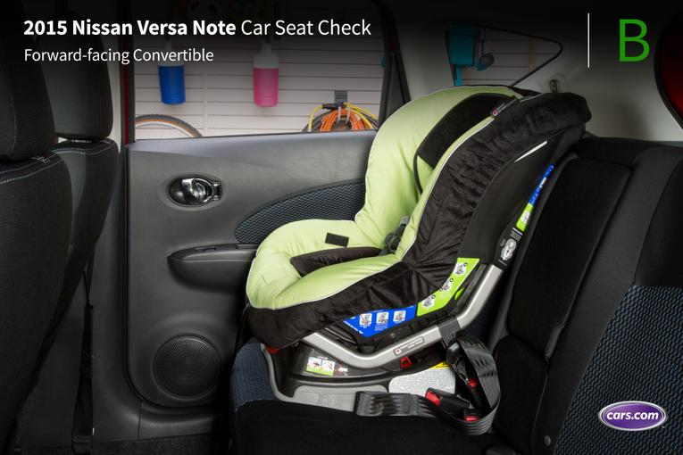 2015 nissan versa note car seat check. Black Bedroom Furniture Sets. Home Design Ideas