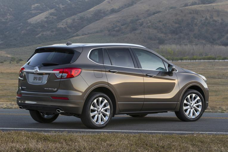 Buick to import 2016 envision suv from china for General motors near me