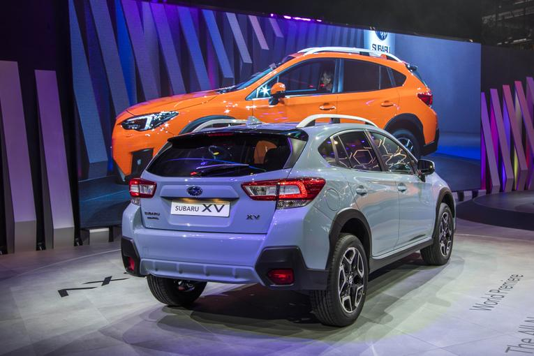 2018 subaru crosstrek debuts in geneva. Black Bedroom Furniture Sets. Home Design Ideas