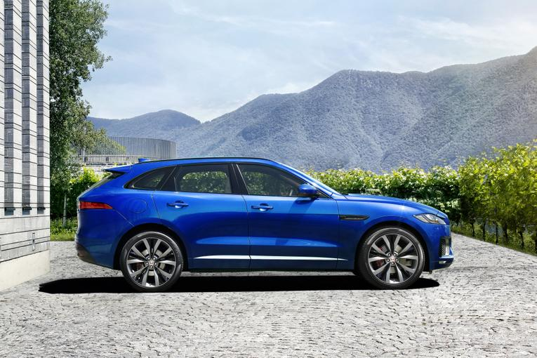 Simple 2017 Jaguar FPace First Look