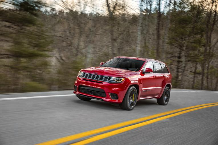 Jeep unveils 2018 Grand Cherokee Trackhawk with 707hp Hellcat engine