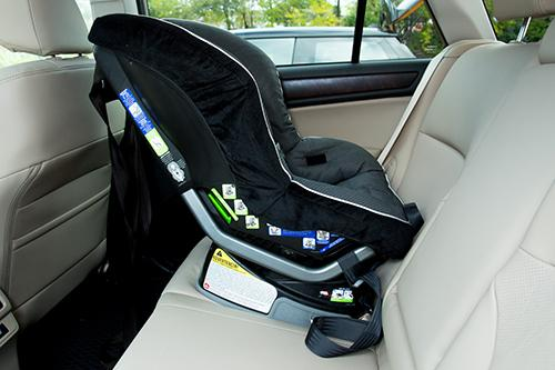 2015 subaru outback car seat check