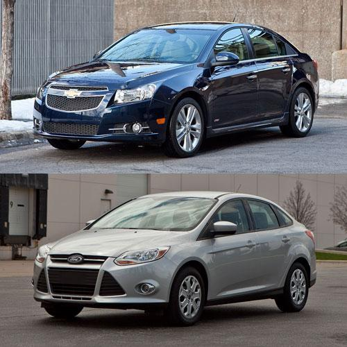 why the chevrolet cruze beat the ford focus. Black Bedroom Furniture Sets. Home Design Ideas