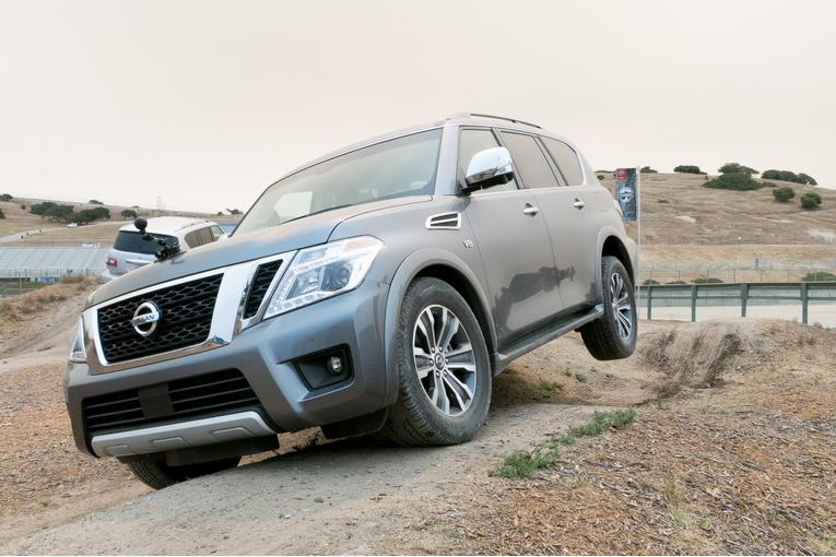2017 nissan armada review first drive. Black Bedroom Furniture Sets. Home Design Ideas