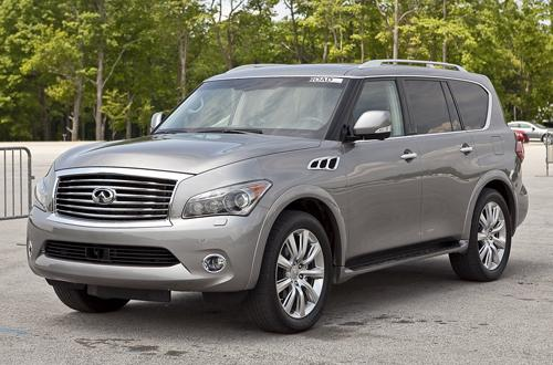 reviews the 2012 infiniti qx56. Black Bedroom Furniture Sets. Home Design Ideas