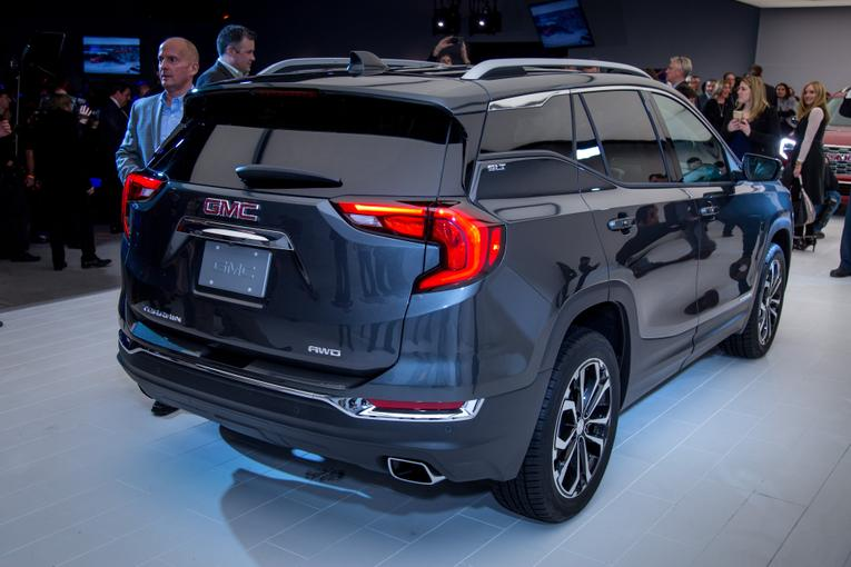 Original 2018 GMC Terrain Review First Impressions And Photo Gallery