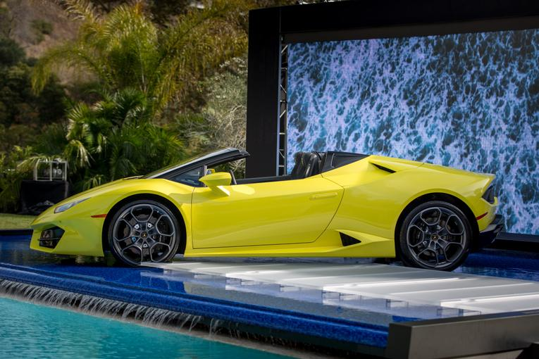 2017 lamborghini hurac n rear wheel drive spyder review. Black Bedroom Furniture Sets. Home Design Ideas