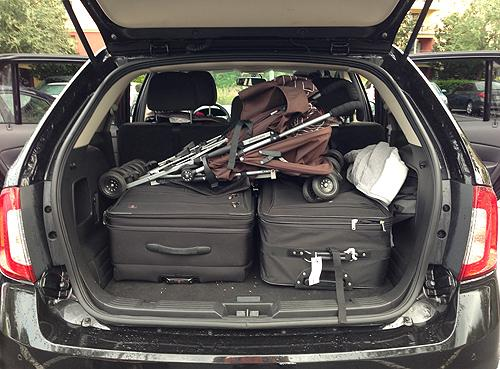 Will  Car Seats Fit In A Ford Edge