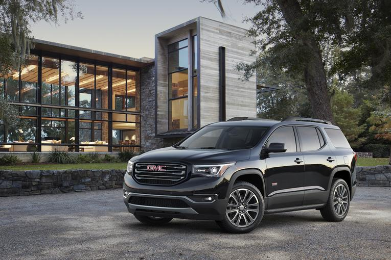Cool 2017 GMC Acadia First Look