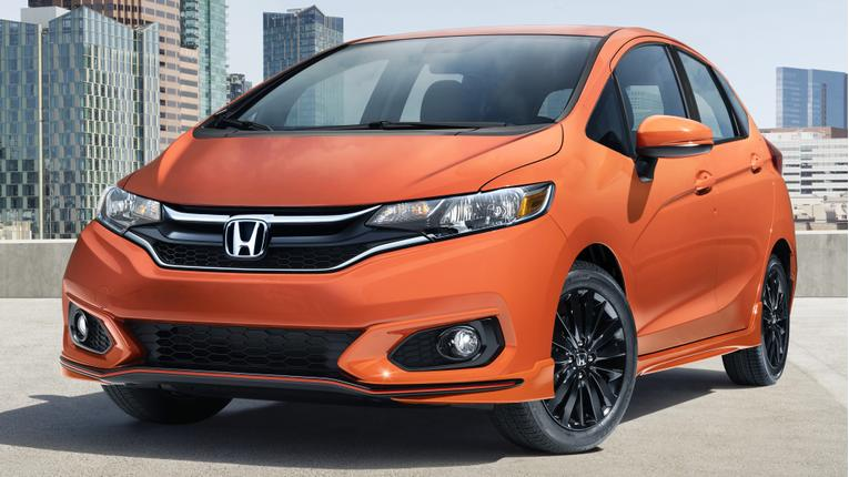 2018 Honda Fit Is on Sale Now With New Tech, Sport Trim