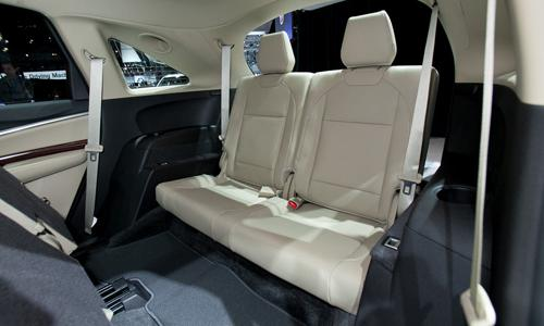 acura mdx cargo space behind third row latest news car. Black Bedroom Furniture Sets. Home Design Ideas