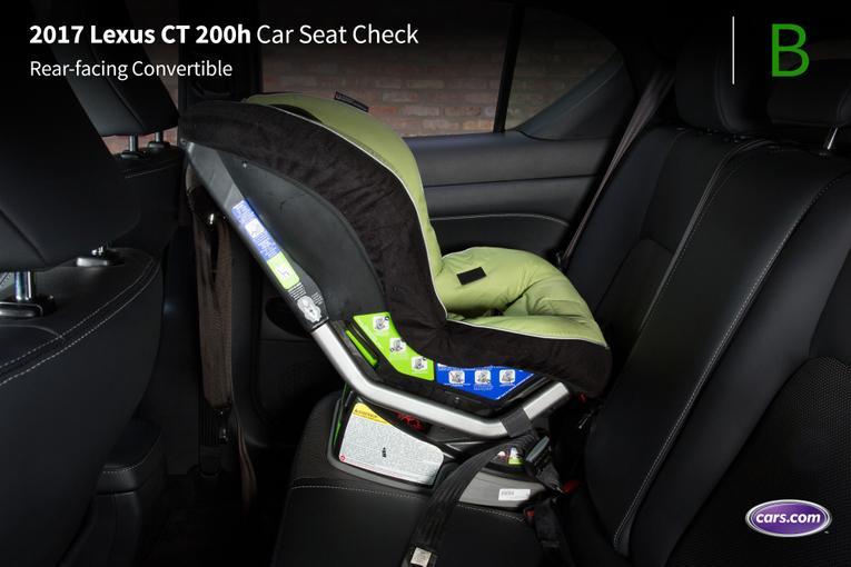 2017 lexus ct 200h car seat check. Black Bedroom Furniture Sets. Home Design Ideas