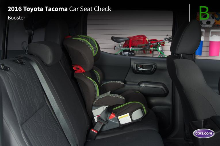 2016 toyota tacoma car seat check. Black Bedroom Furniture Sets. Home Design Ideas
