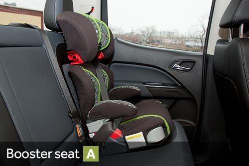 2015 Chevrolet Colorado Car Seat Check