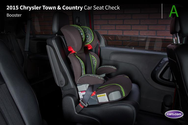 Cars With Third Row Seating >> 2015 Chrysler Town & Country: Car Seat Check