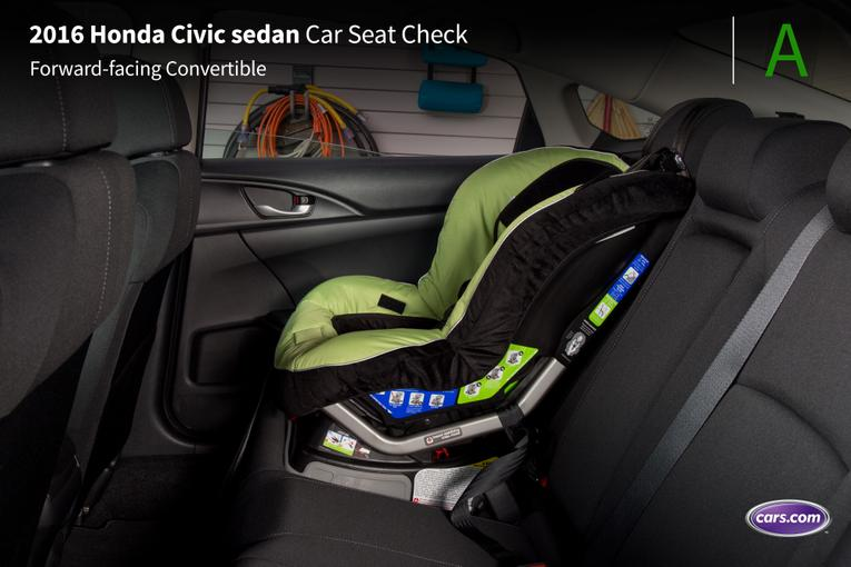 2016 honda civic sedan car seat check. Black Bedroom Furniture Sets. Home Design Ideas
