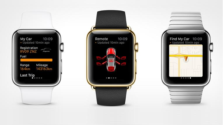 You Can Now Lock Your Porsche With Your Apple Watch
