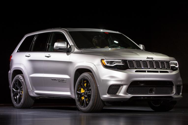 Jeep Grand Cherokee Trackhawk For Sale >> 2018 Jeep Grand Cherokee Trackhawk: First Impressions and