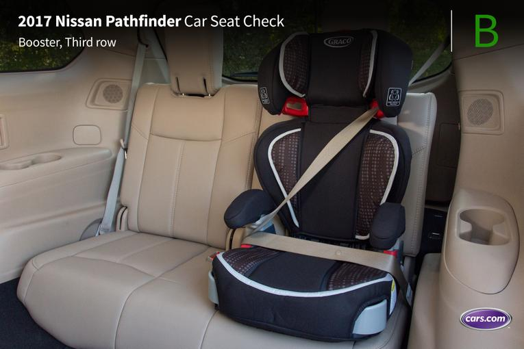 2017 Nissan Pathfinder Car Seat Check