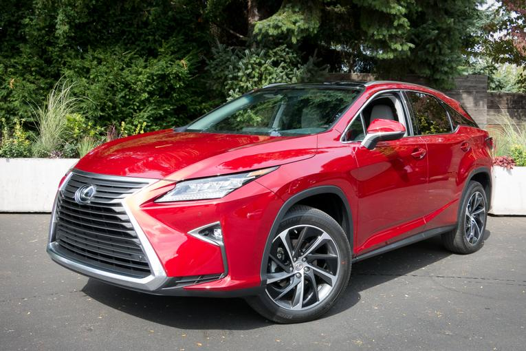 2016 lexus rx 350 and rx 450h first drive. Black Bedroom Furniture Sets. Home Design Ideas