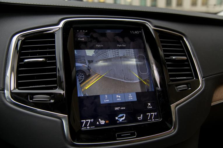 2016 Volvo XC90: We Dive Into Its Enormous Touch-Screen