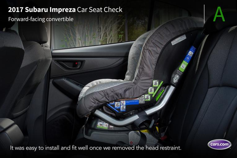 2017 subaru impreza car seat check. Black Bedroom Furniture Sets. Home Design Ideas