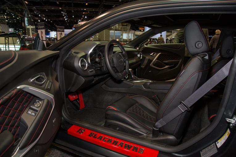 2016 Chevrolet Blackhawks Camaro